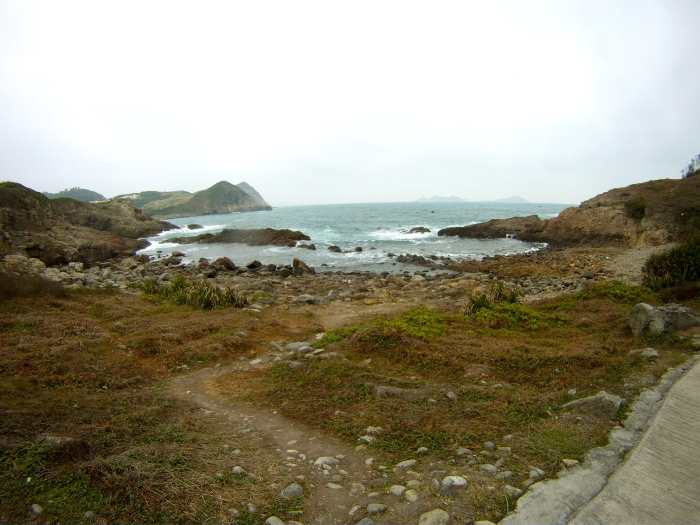 Coastal area of the Island