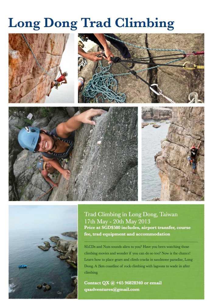 Taiwan Trad Climbing 2013
