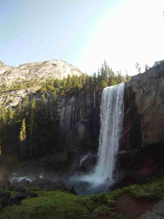 Vernal Falls looking tall and proud!