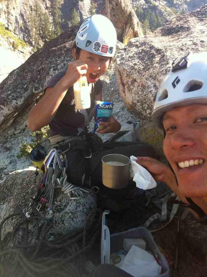 Summit high tea!