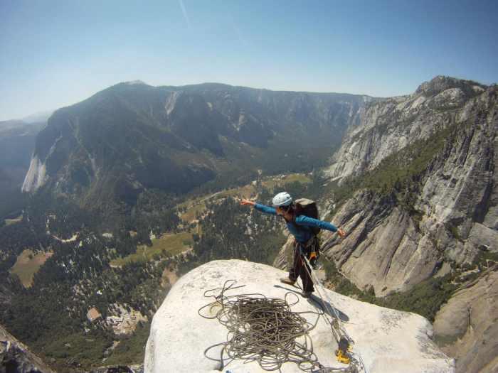 Kelly likes this climb!