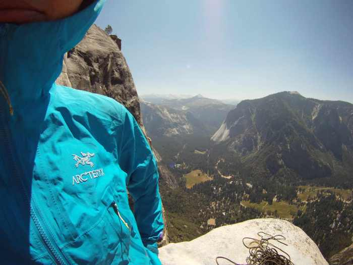 Thank you Arcteryx for the great support for our adventures!