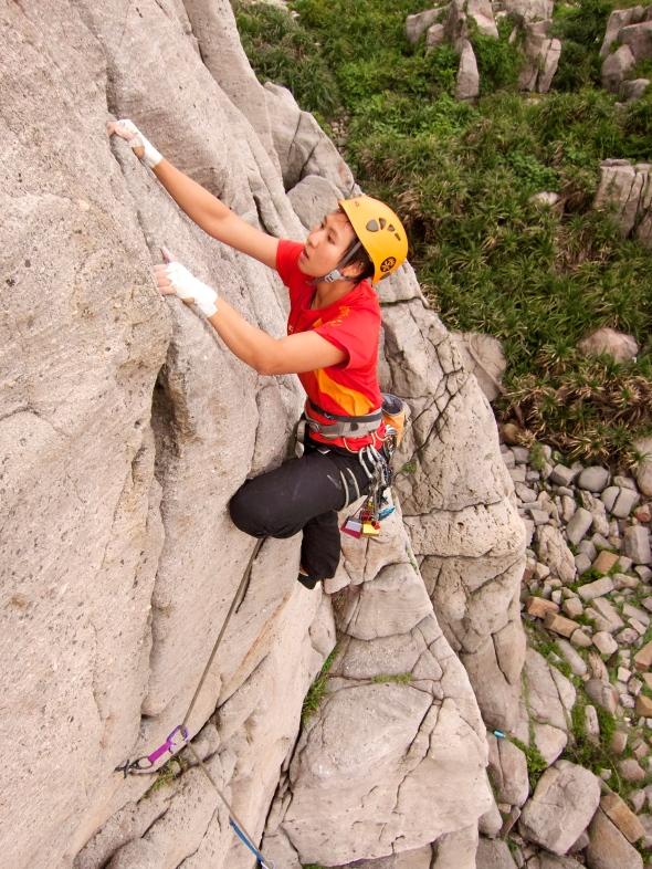 Learn trad climbing!