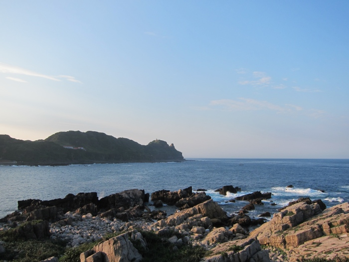 Great weather in April and May. View of Bitou Cape.