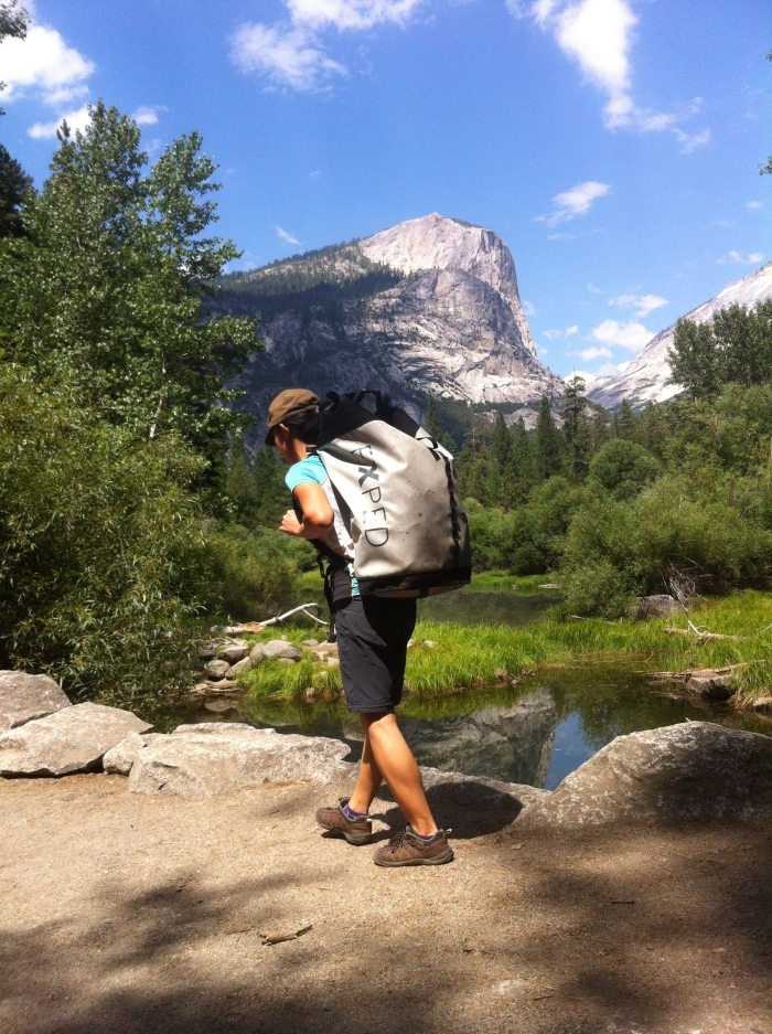 Long hikes to get water and gears to the base makes this wall a huge challenge and keeps many Yosemite climbers away