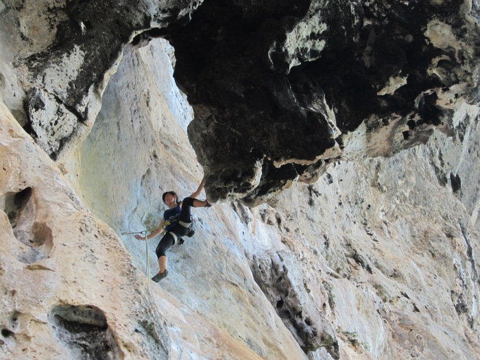 Mega Classic climb of Tonsai that you should not leave without! Humanality 6b