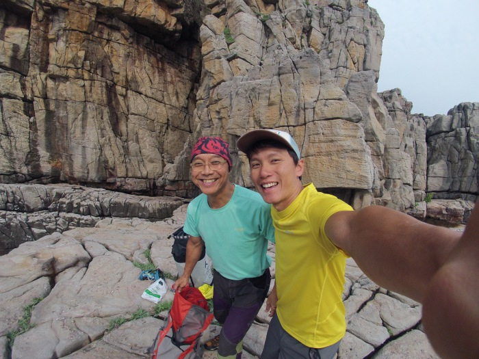 My proud moment with our oldest climber in Singapore Doc Kung to prepare for his Yosemite trip this summer
