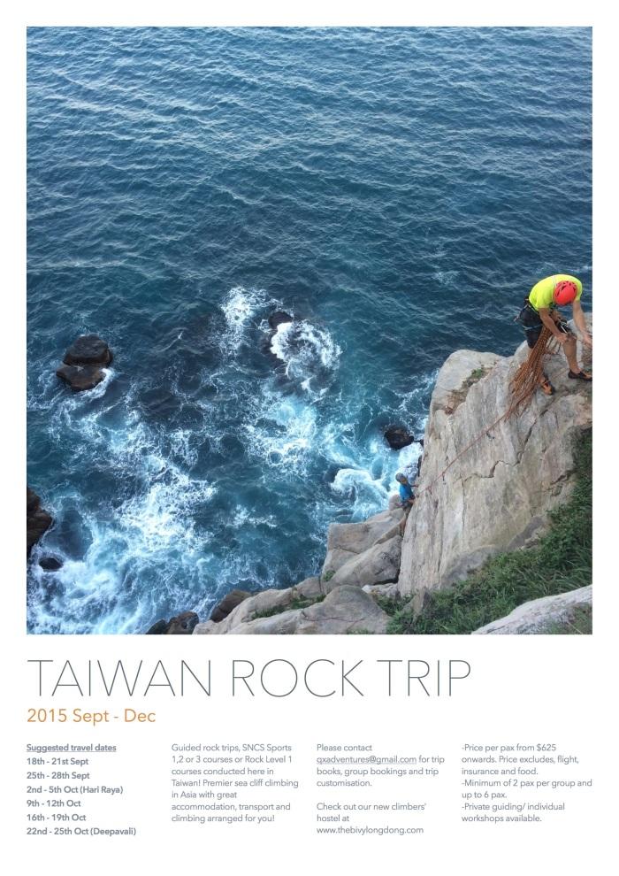 Taiwan Rock trip 2015 Sept