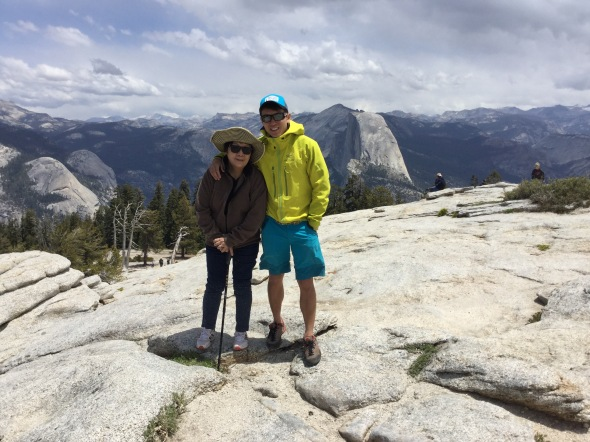The best thing I have done this year. Guided my mum up Sentinel Dome!